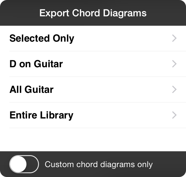 Onsong Manual Export Chord Diagrams